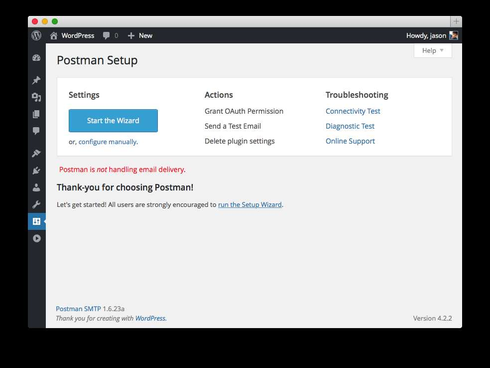 Postman SMTP Mailer/Email Log Plugin WordPress