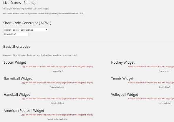 League Tables with Standings, Fixtures, Results, Goalscorers, Cards & More! Plugin WordPress