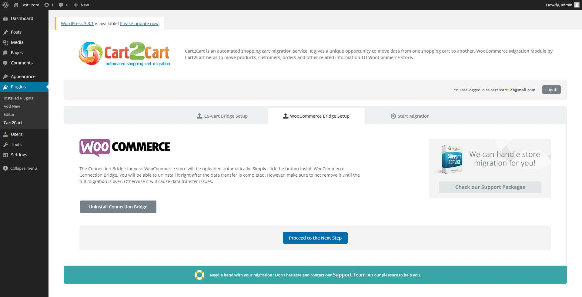 Cart2Cart: CS-Cart to WooCommerce Migration Plugin WordPress