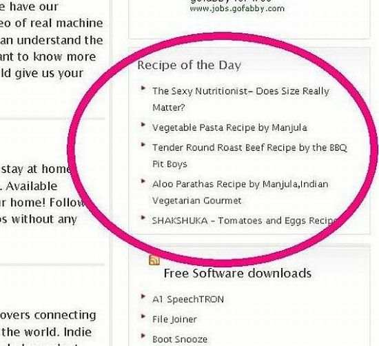 Recipe of the Day Plugin WordPress, Download, Install