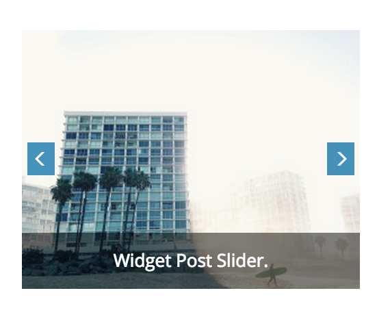 Widget Post Slider Plugin WordPress, Download, Install