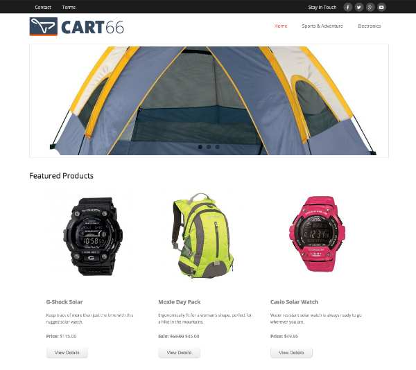 Cart66 Cloud :: Ecommerce with security Plugin WordPress, Download, Install