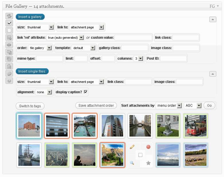 File Gallery Plugin WordPress