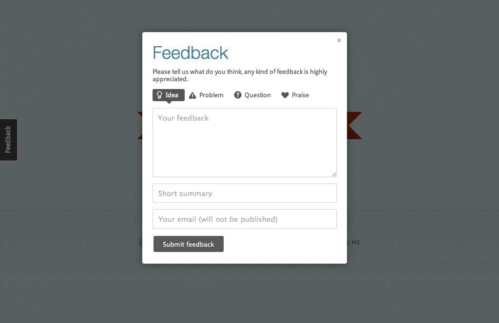 Usernoise modal feedback / contact form Plugin WordPress, Download, Install