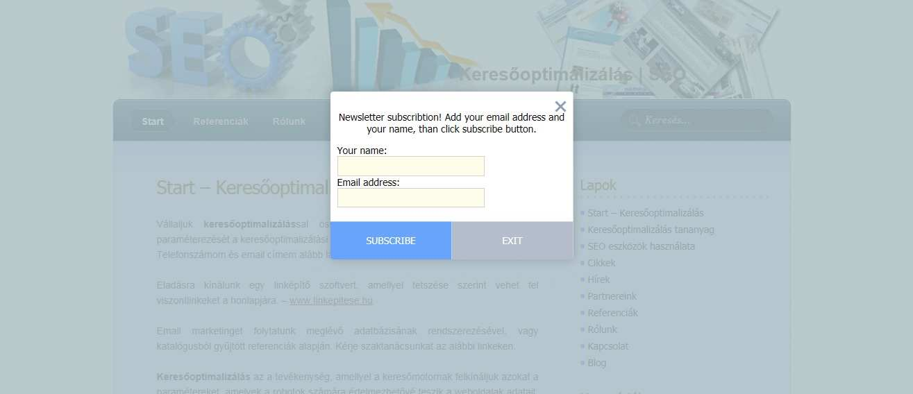 Simple Popup Newsletter Plugin WordPress, Download, Install