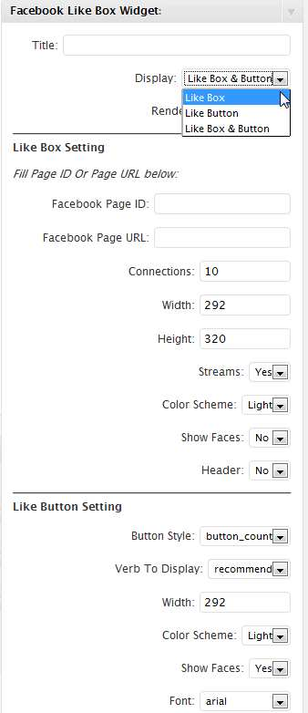 Facebook Like Box Widget Plugin WordPress, Download, Install