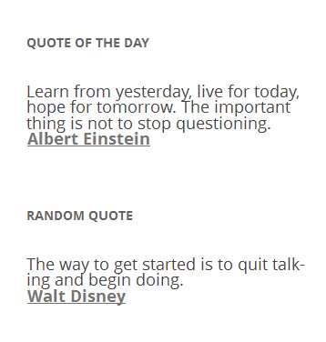Quote of the Day and Random Quote Plugin WordPress, Download, Install