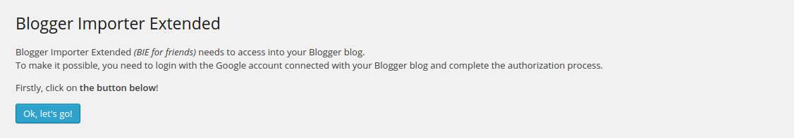 Blogger Importer Extended Plugin WordPress, Download, Install