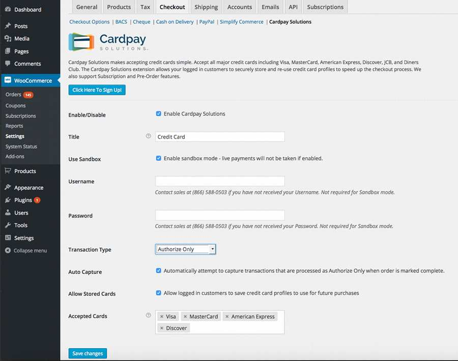 High Risk Payment Gateway for WooCommerce Plugin WordPress, Download, Install