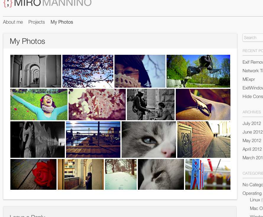 Flickr Photostream Plugin WordPress, Download, Install
