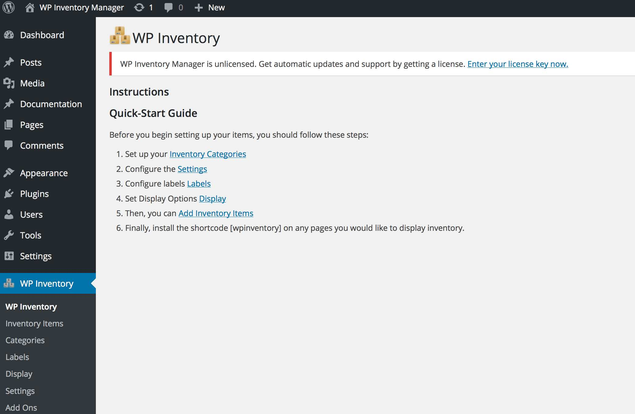 WP Inventory Manager Plugin WordPress, Download, Install