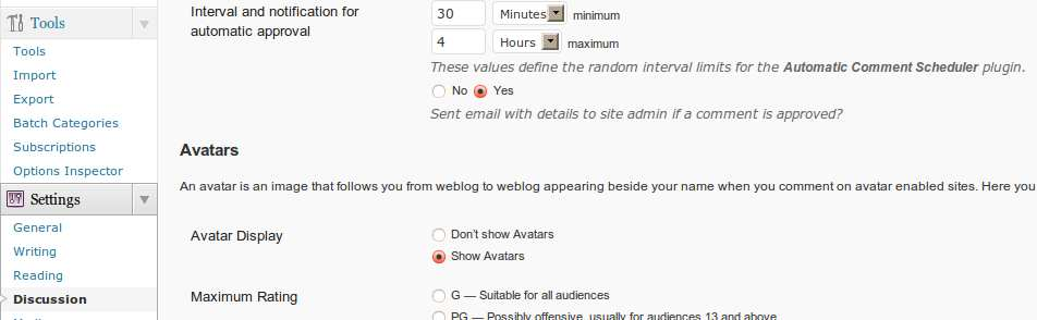 Automatic Comment Scheduler Plugin WordPress, Download, Install