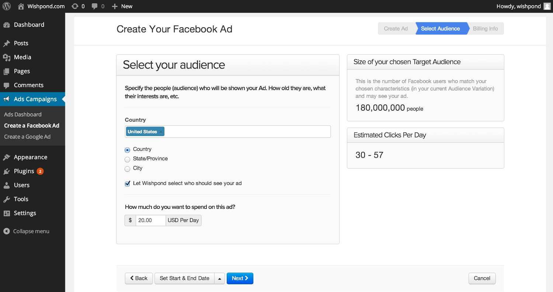 Ads Campaigns Plugin WordPress
