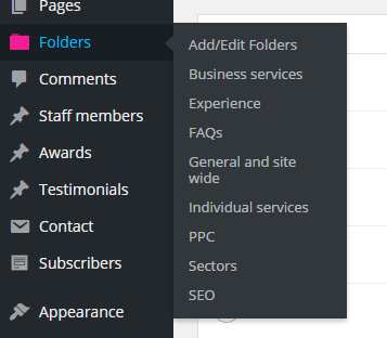 Folders Plugin WordPress, Download, Install