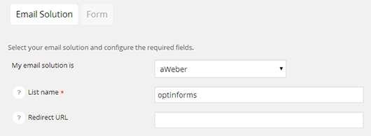 Optin Forms Plugin WordPress