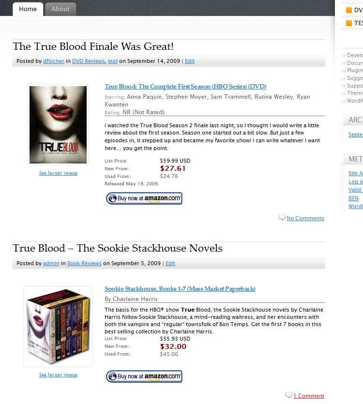 Amazon Product in a Post Plugin Plugin WordPress