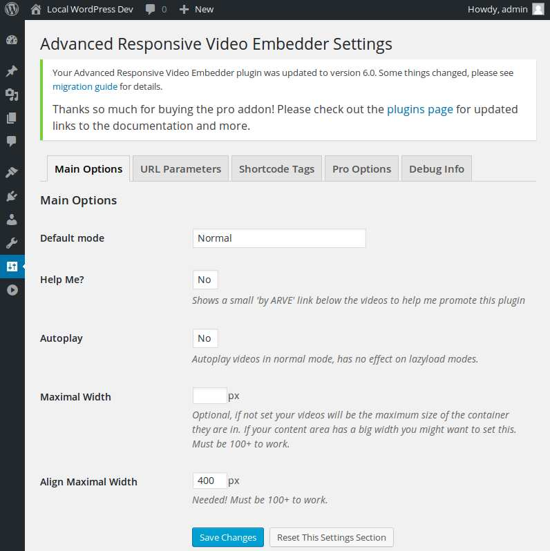 Advanced Responsive Video Embedder Plugin WordPress, Download, Install