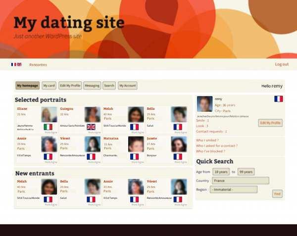 site rencontre web