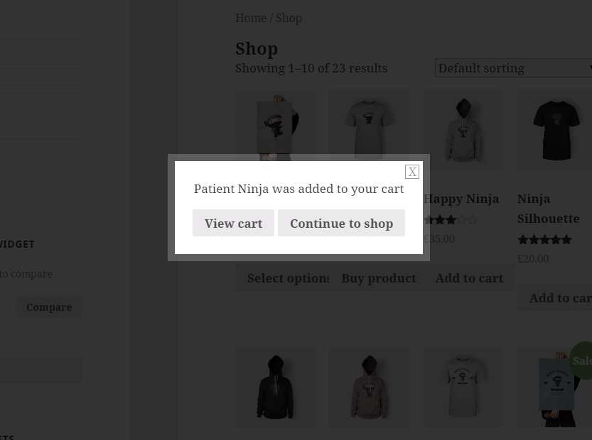 YITH WooCommerce Added to Cart Popup Plugin WordPress