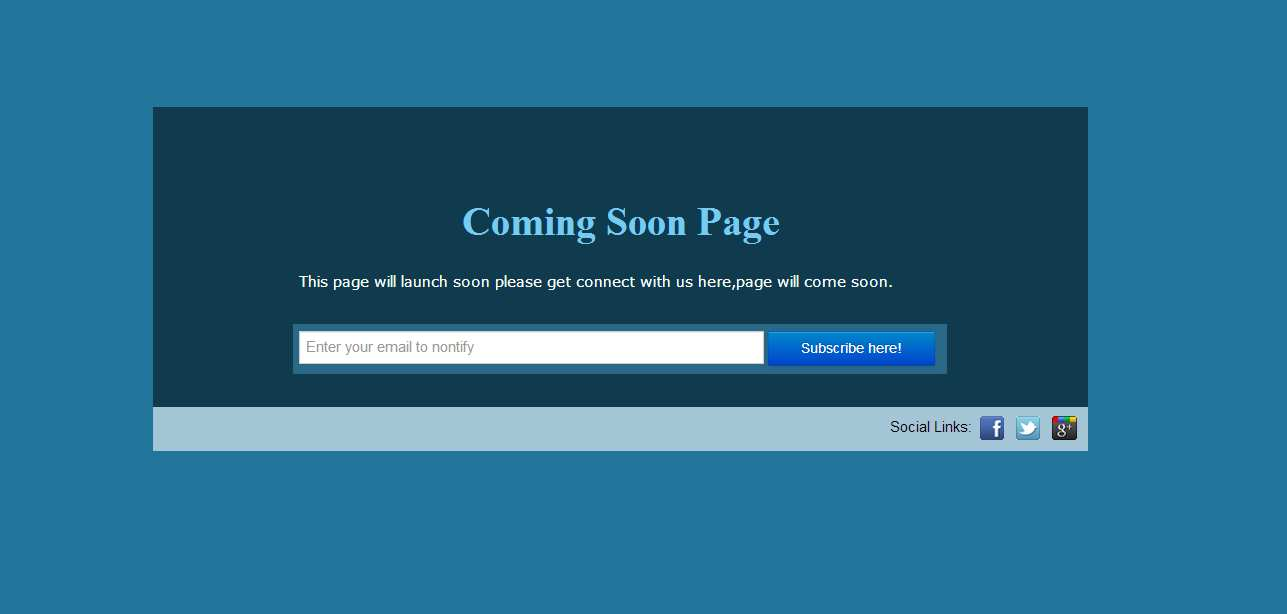 Easy Coming Soon Plugin WordPress