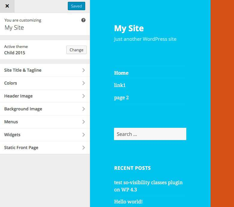 SO Customizer Hide Menu Plugin WordPress