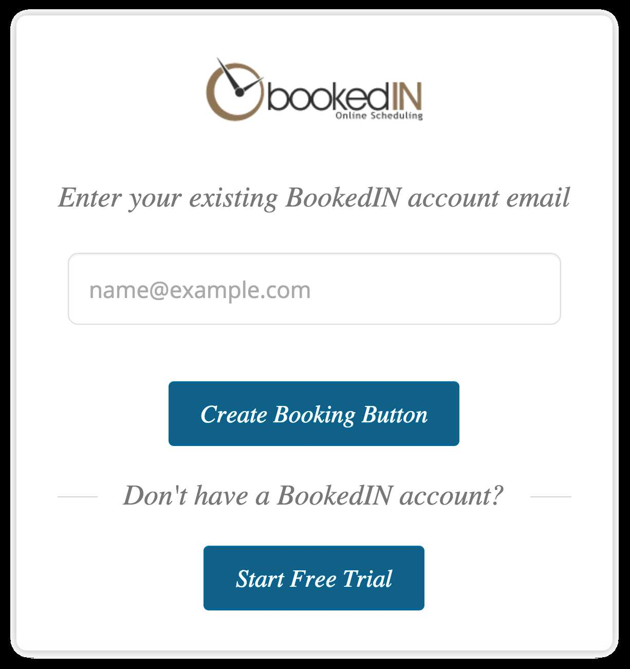 BookedIN Online Appointment Scheduling Plugin WordPress