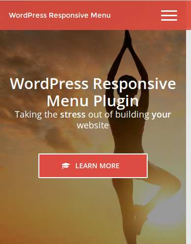 Responsive Menu Plugin WordPress