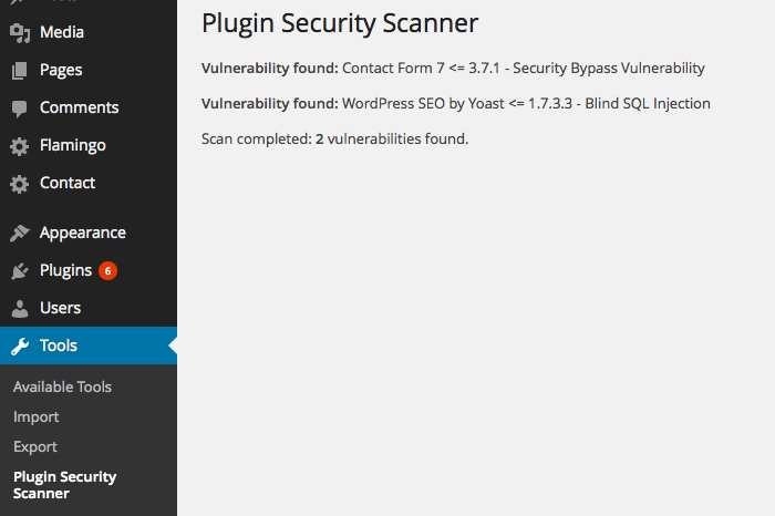 Plugin Security Scanner Plugin WordPress, Download, Install