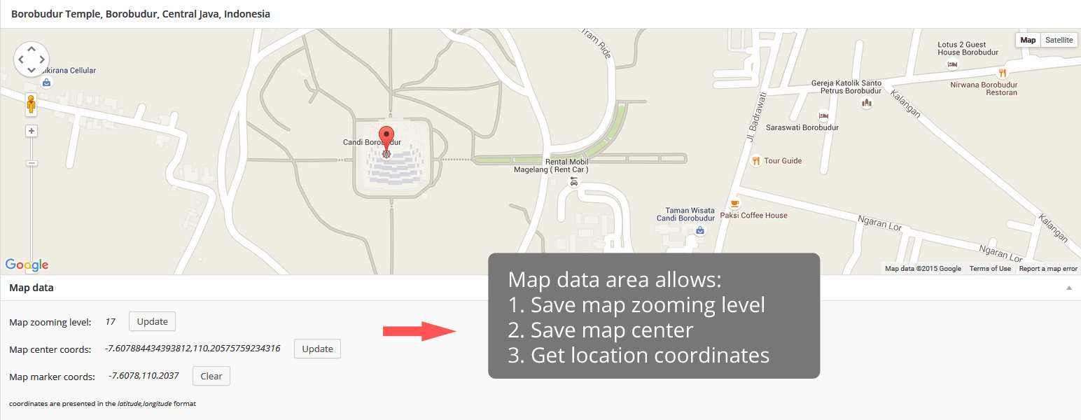 ACF: Google Map Extended Plugin WordPress