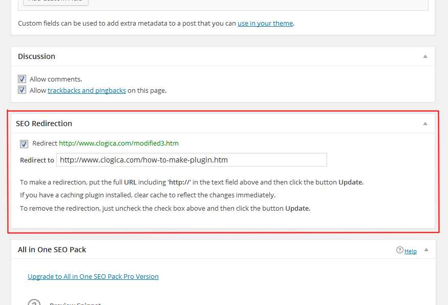 SEO Redirection Plugin Plugin WordPress, Download, Install