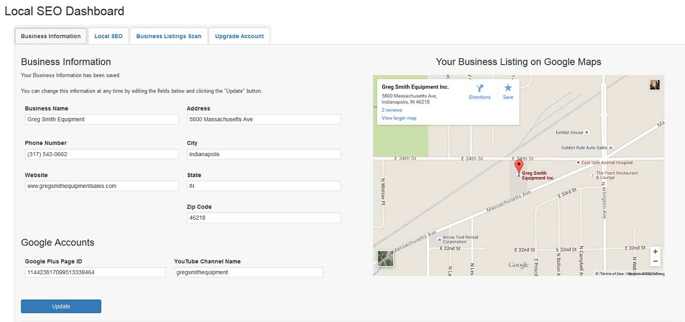 Local SEO and Business Listings Plugin WordPress