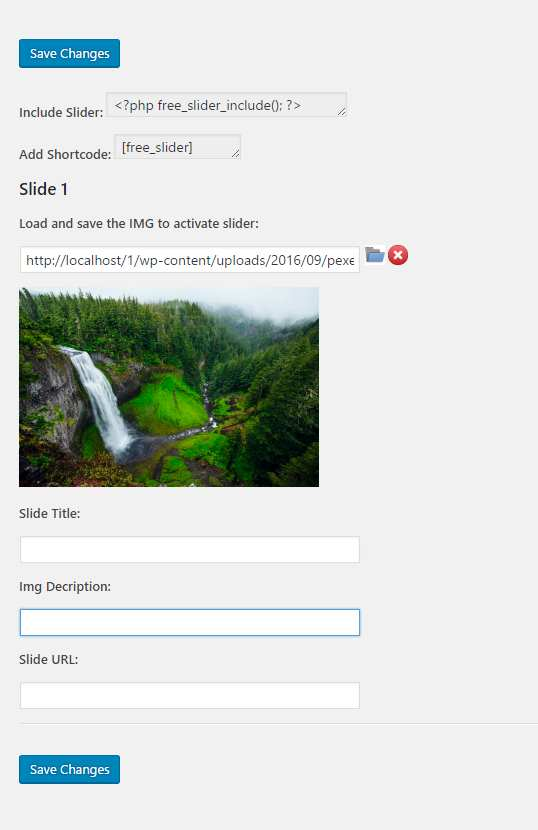 Free Slider Plugin WordPress