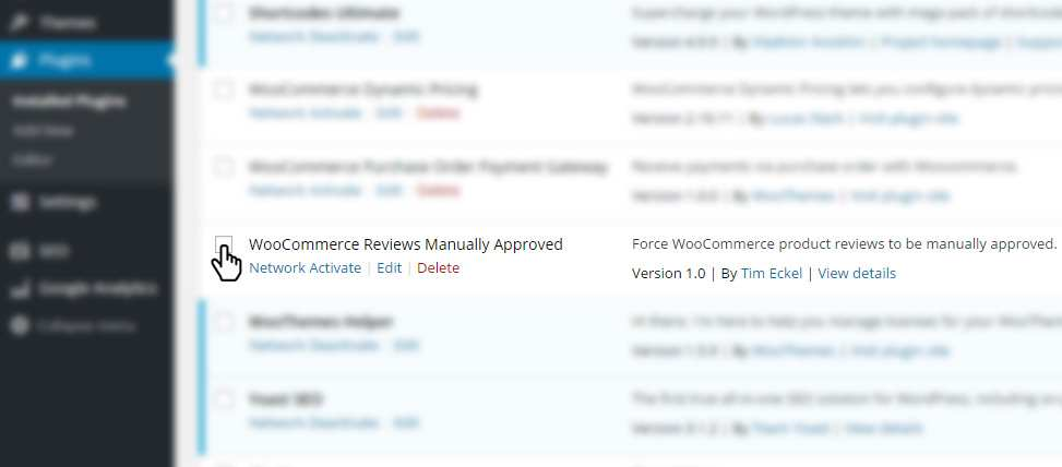 WooCommerce Reviews Manually Approved Plugin WordPress, Download, Install