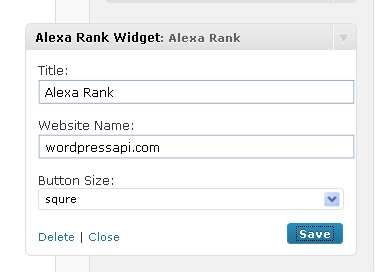 Alexa Rank Widget Plugin WordPress, Download, Install