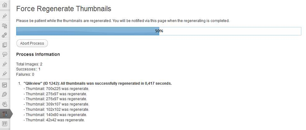 Force Regenerate Thumbnails Plugin WordPress, Download, Install