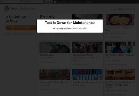 Ultimate Maintenance Mode Plugin WordPress, Download, Install