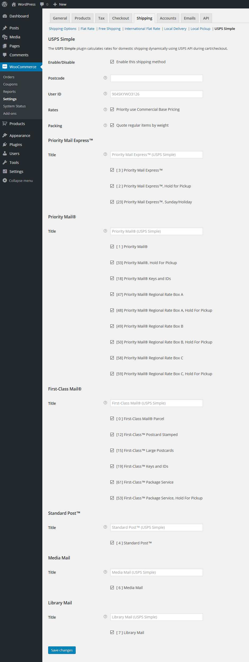 USPS Simple Shipping for Woocommerce Plugin WordPress, Download, Install