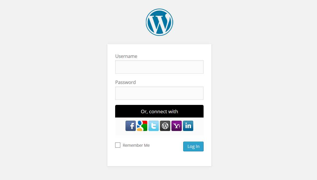 WordPress Social Login Plugin WordPress
