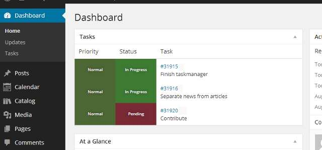 scifi Task Manager Plugin WordPress, Download, Install