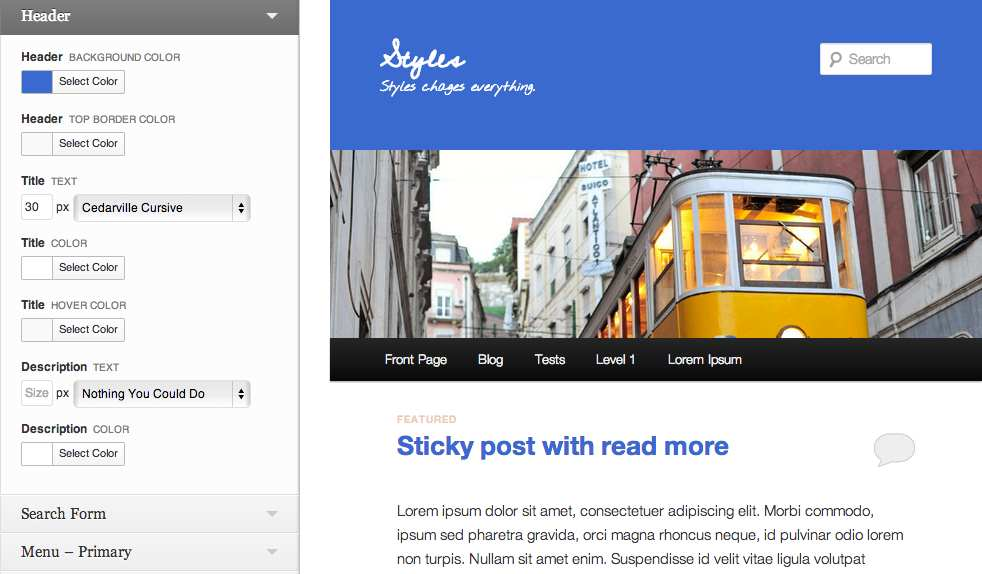 Styles Plugin WordPress, Download, Install