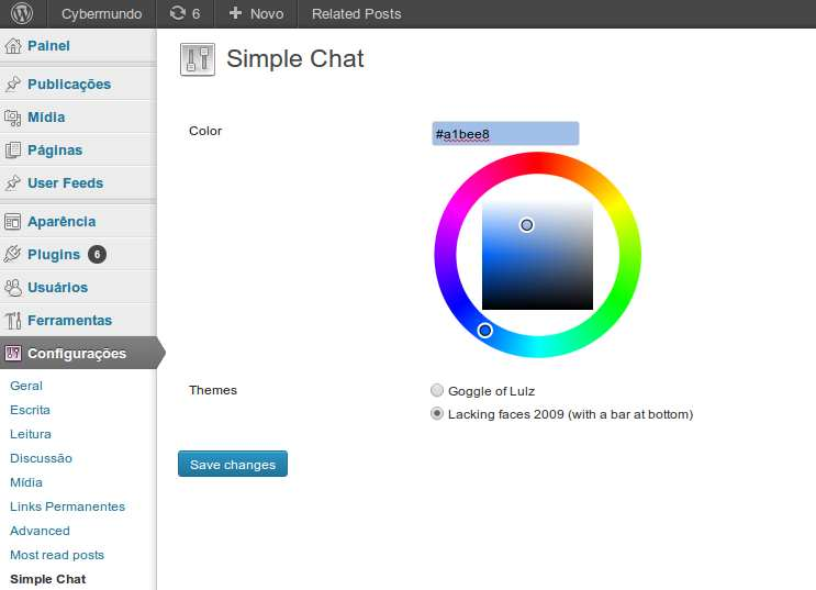 Simple Chat Plugin WordPress, Download, Install