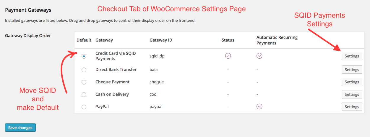 SQID Payments Gateway for Woocommerce Plugin WordPress, Download, Install