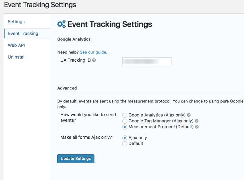 Gravity Forms Google Analytics Event Tracking Plugin WordPress, Download, Install