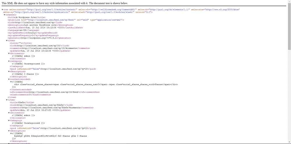 Better RSS Feeds Plugin WordPress