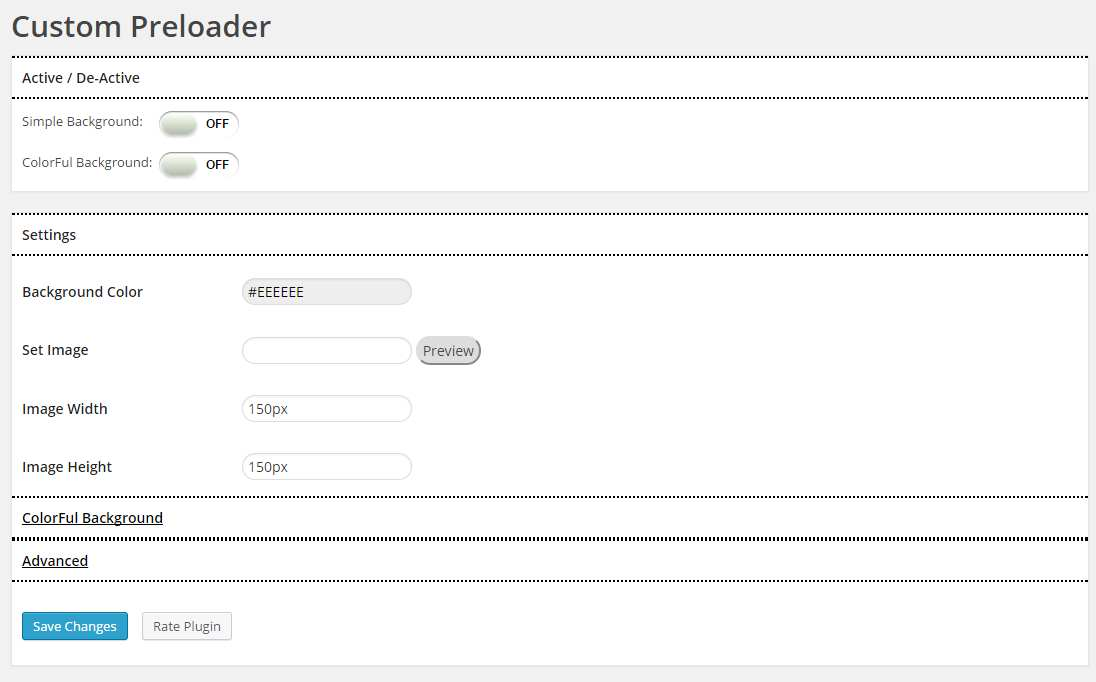 Custom Preloader Plugin WordPress, Download, Install
