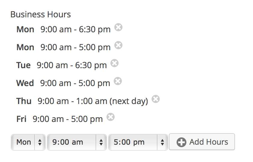 Gravity Forms Business Hours by GravityView Plugin WordPress