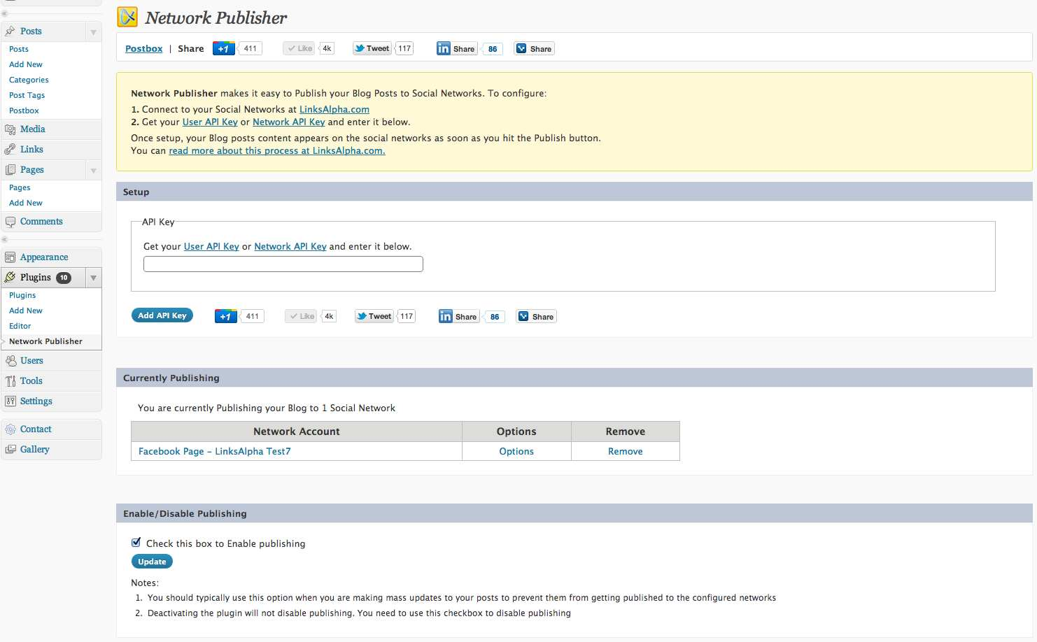 Network Publisher Plugin WordPress, Download, Install