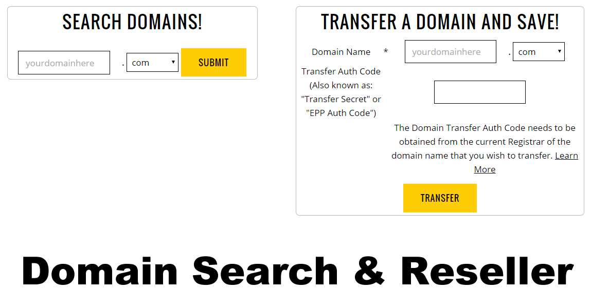 Hyper Domains Search Form Plugin WordPress, Download, Install