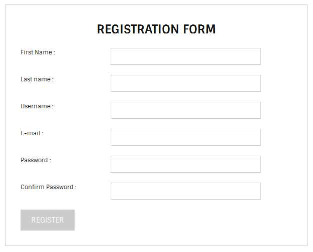 Simple Registration Form Plugin WordPress, Download, Install