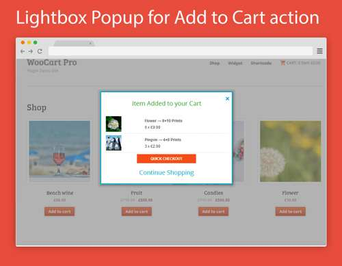 Popup Cart Lite for WooCommerce Plugin WordPress